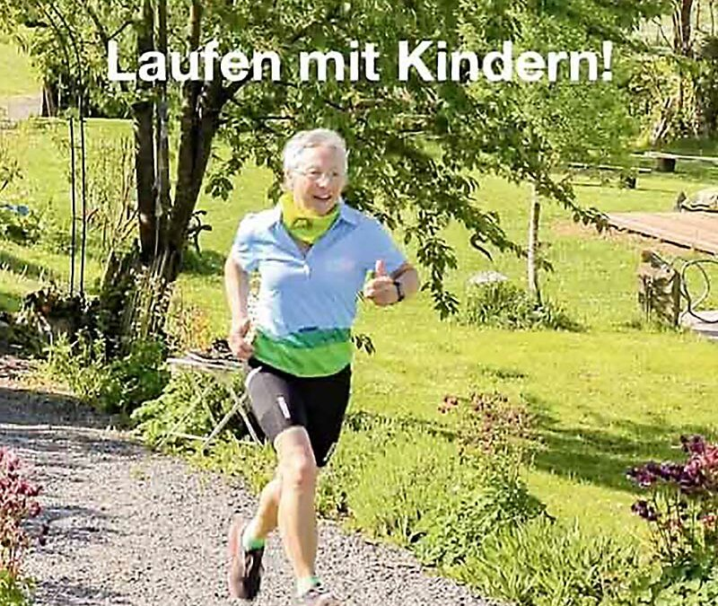 Fit in der Natur mit den Gesundland-Experten – Thema: Laufen mit Kindern