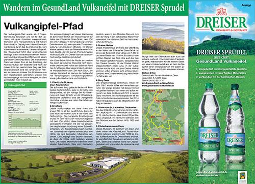 Wandern mit dem DREISER Sprudel - Vulkangipfel-Pfad