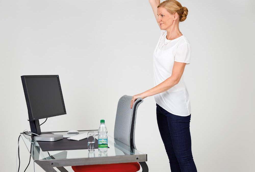 Fit im Büro mit den Gesundland-Experten – Übung 11: Lange Seite